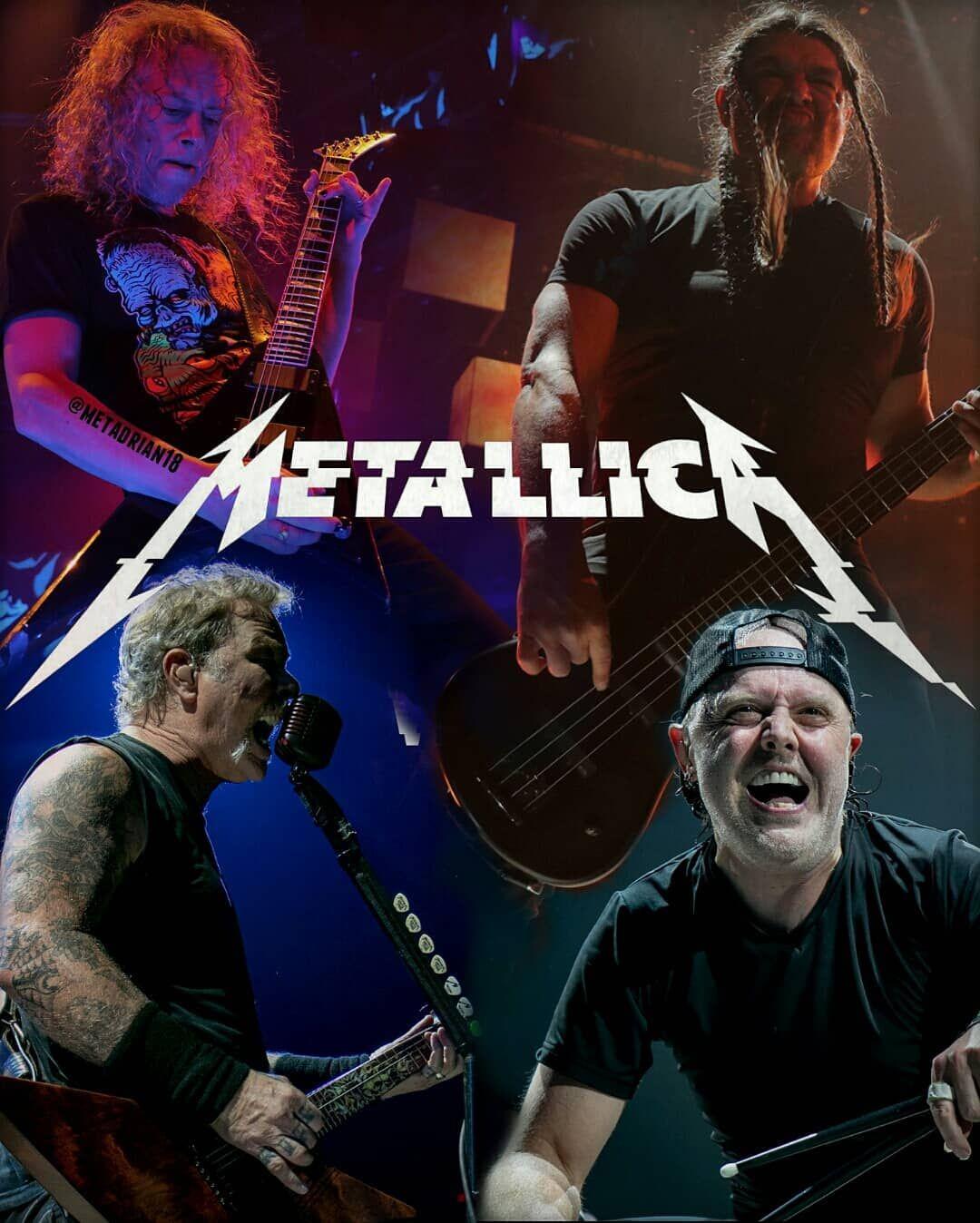 Worldwired 2019 Metallica Jameshetfield Kirkhammett