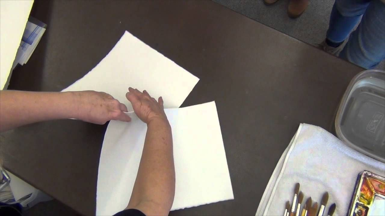 How To Tear Watercolor Paper Watercolor Paper Watercolour