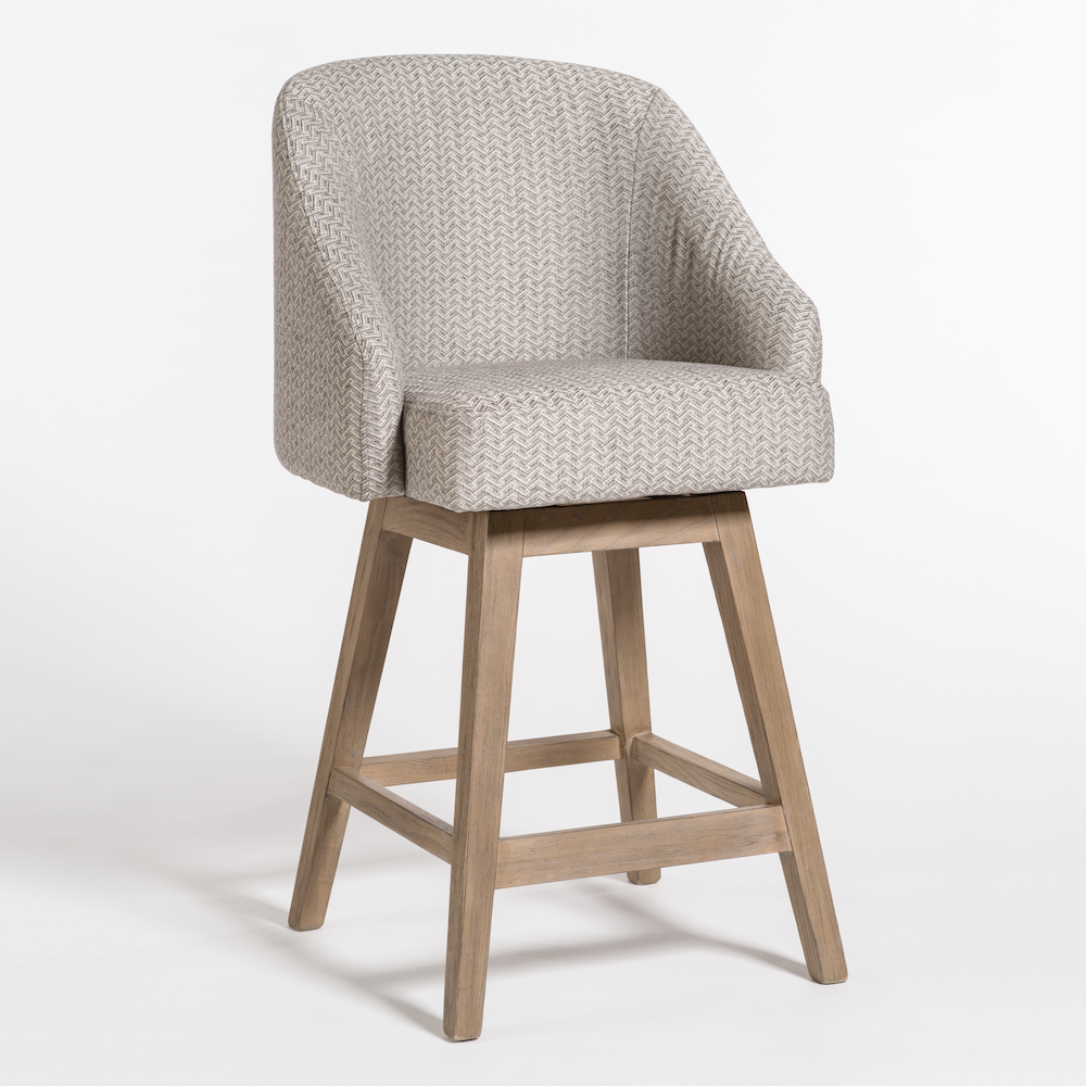 Enjoyable Landry Counter Stool Alder Tweed Furniture Bar Stools Uwap Interior Chair Design Uwaporg