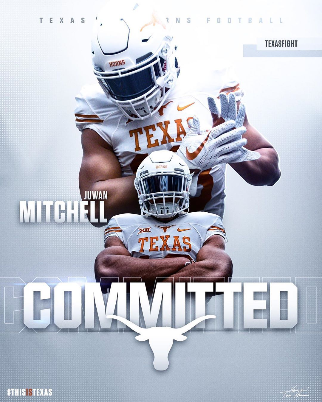 2019 Juco Ilb Juwan Mitchell Has Committed To Texas This Is Big