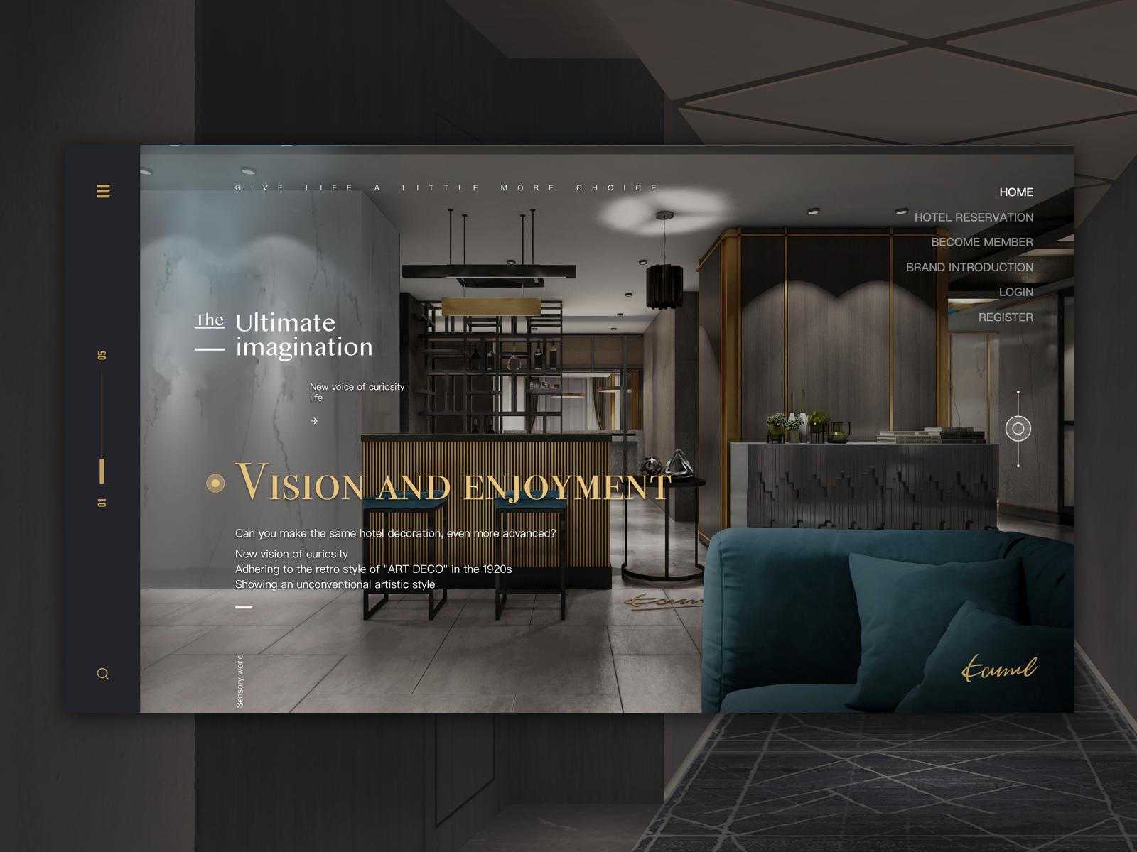 Hotel Web Design With Images Best Interior Design Websites