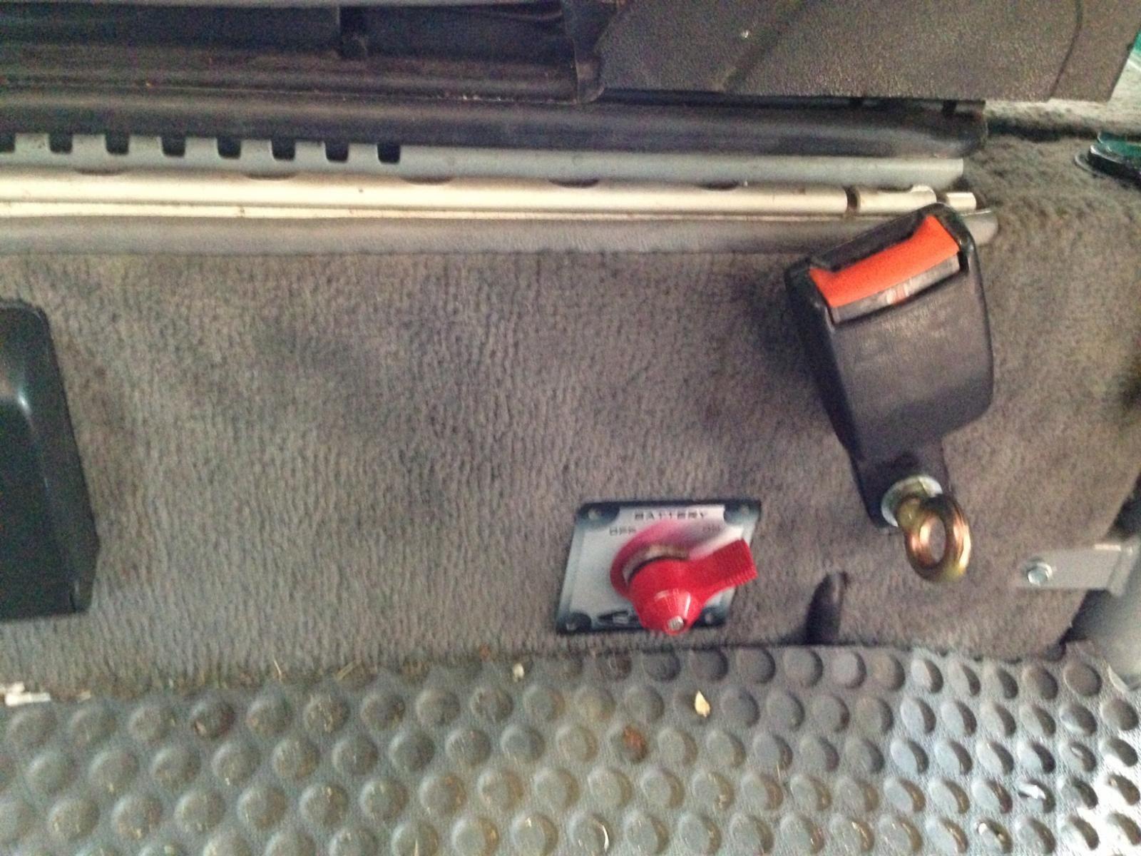 Vanagon Battery Shut Off Volkswagen type 3, Vw syncro