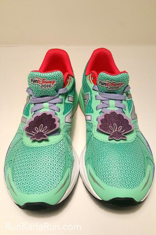 ee4cf8637b1c New Balance Ariel runDisney Shoes! First Look at The Little Mermaid Vazee  Pace!