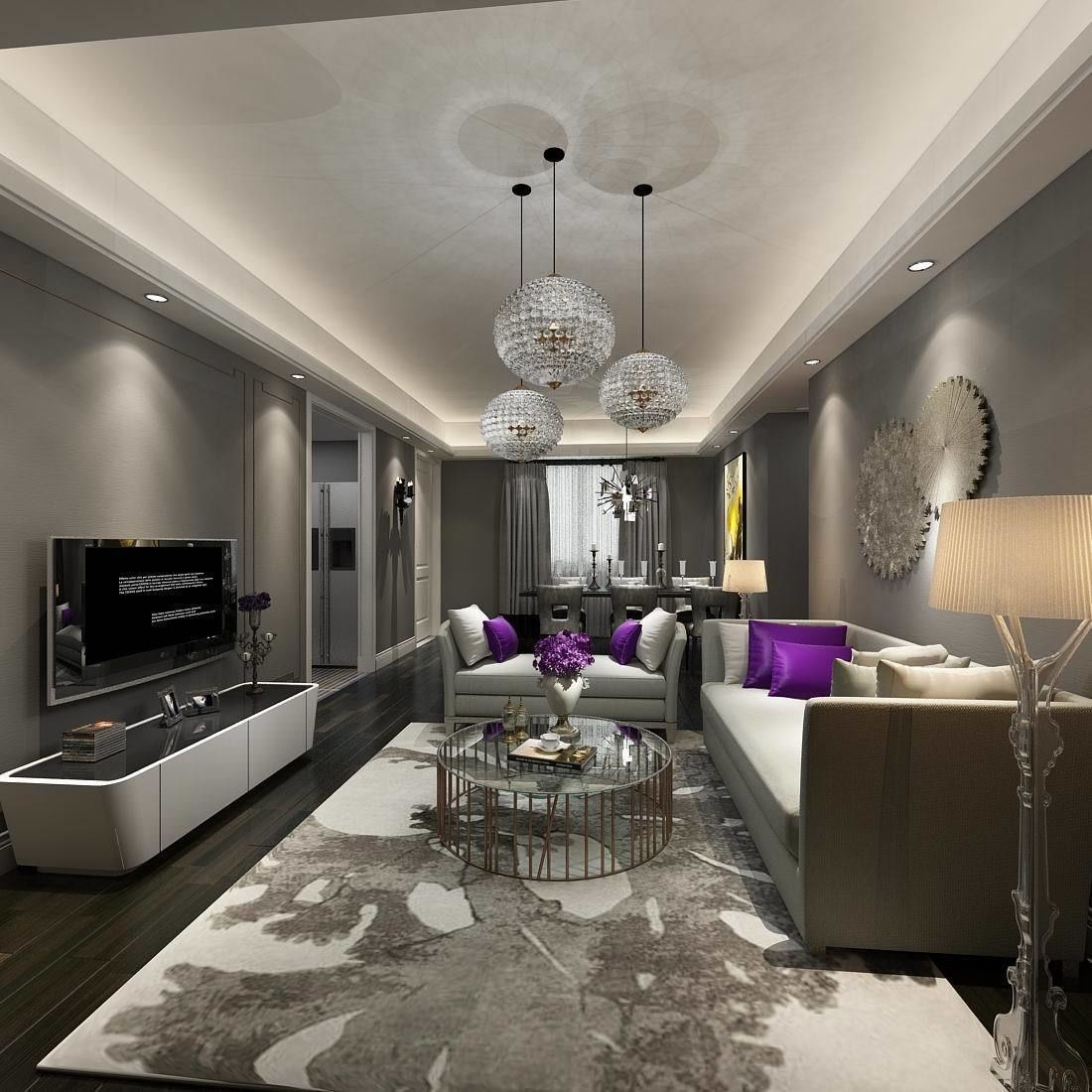 3d Interior Model Designed By Expldin Available In Autodesk