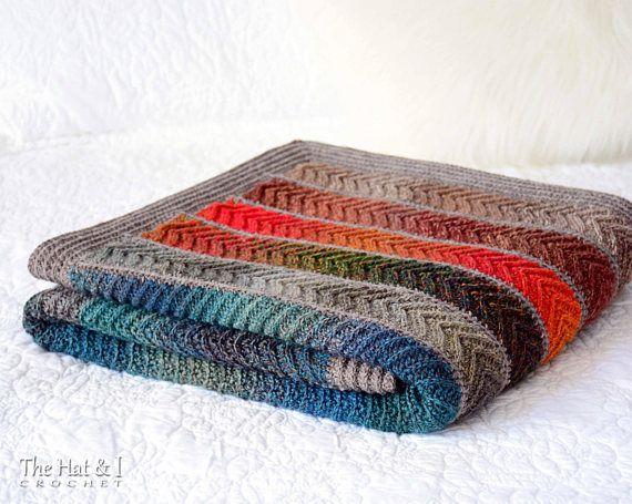 Crochet Pattern Super Fine Sampler Crochet Blanket Pattern