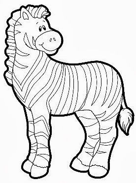Pin By Beverly Brar On 100 Day Extra Zebra Drawing Animal Coloring Pages Coloring Pages