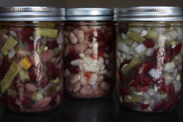 Growing Canning Eating With S O L E Bean Salad 3 Bean Salad Eat