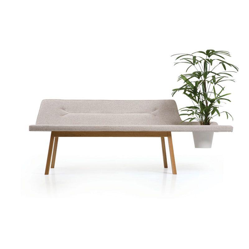 Elegant Lin Pod Bench   Designad Av Leif.designpark För Atlantico// Felt U0026 Wood