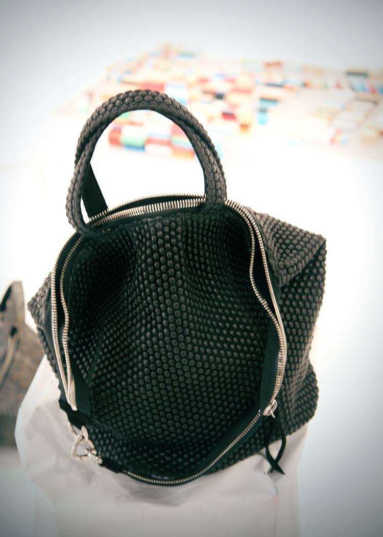 Sang A Bag Love The Shape And Pebbled Leather
