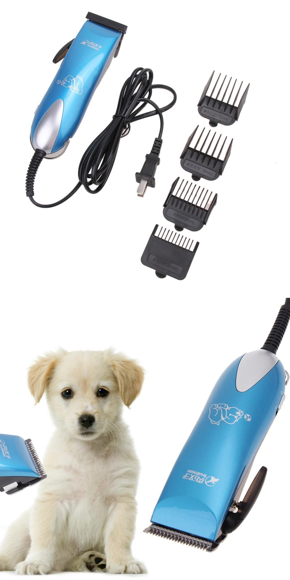 Visit To Buy 25w Electrical Pet Clipper Professional Pet Grooming Kit Cat Dog Hair Trimmer Shaver Haircut Machine Low Grooming Kit Pet Grooming Hair Trimmer