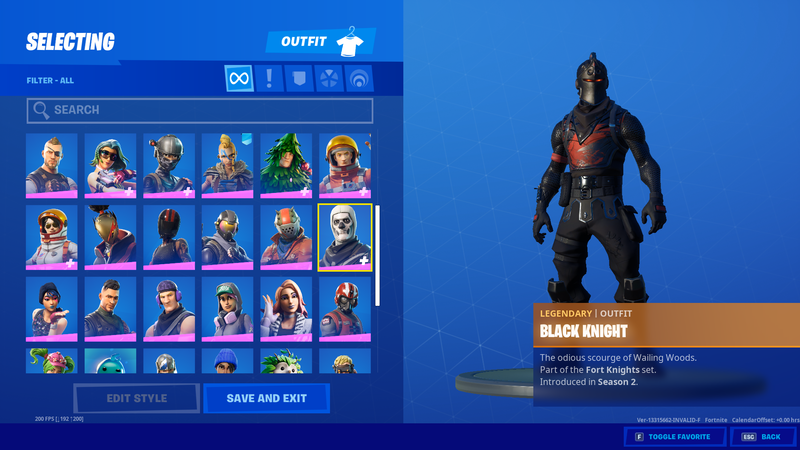 Free Fortnite Accounts Email And Password Free Fortnite Accounts Email And Password Giveaway Chapter 2 Og Rare Skins S Ghoul Trooper Blackest Knight Fortnite