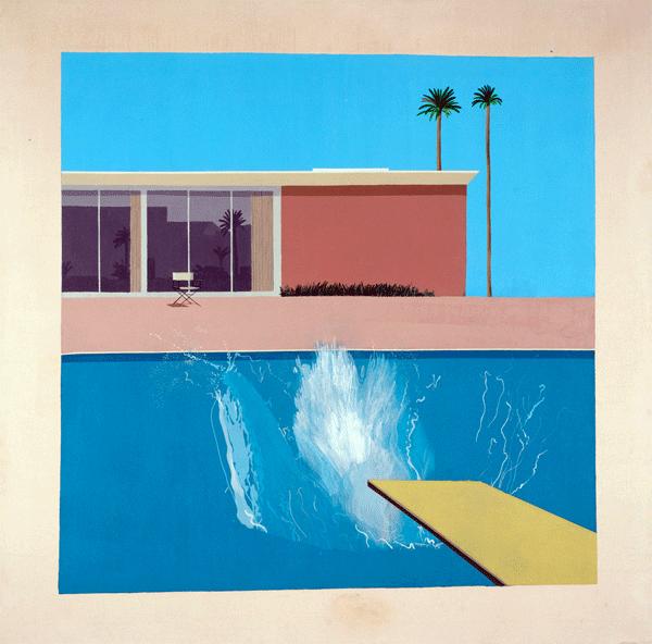 David Hockney, Splash