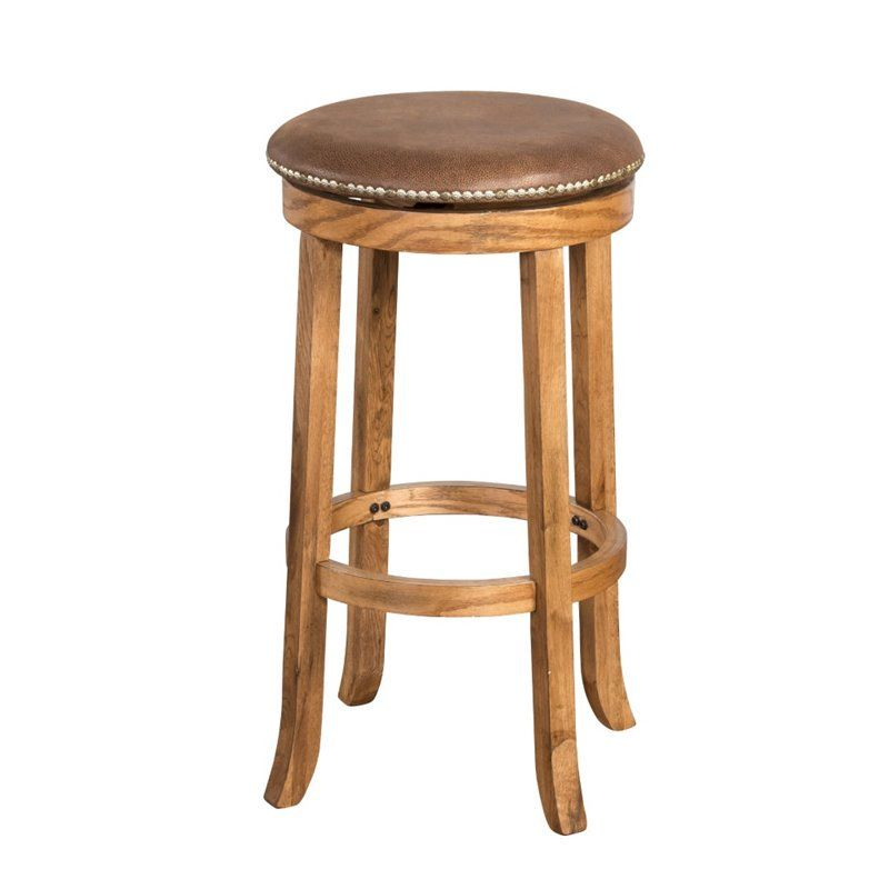 Lowest Price Online On All Sunny Designs Sedona 24 Swivel Counter Stool In Rustic Oak 1782ro Backless Bar Stools Bar Stools Stool