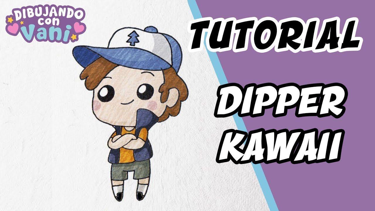 Como Dibujar A Dipper De Gravity Falls Kawaii Dibujos Faciles Paso A Paso Como Dibujar A Dipper Dibujos Kawaii Dibujos Faciles