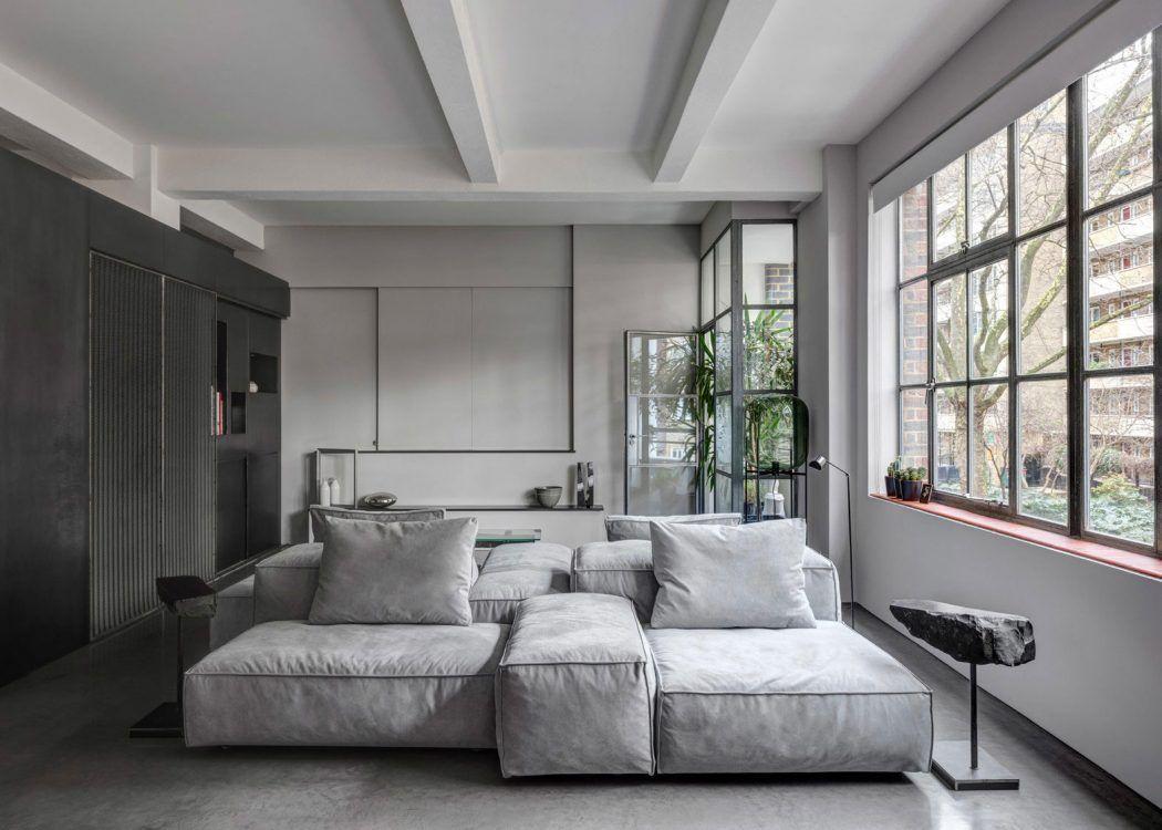 Modular Upholstered Sofa Extrasoft By Living Divani Design Piero  # Muebles Jacaranda Valladolid