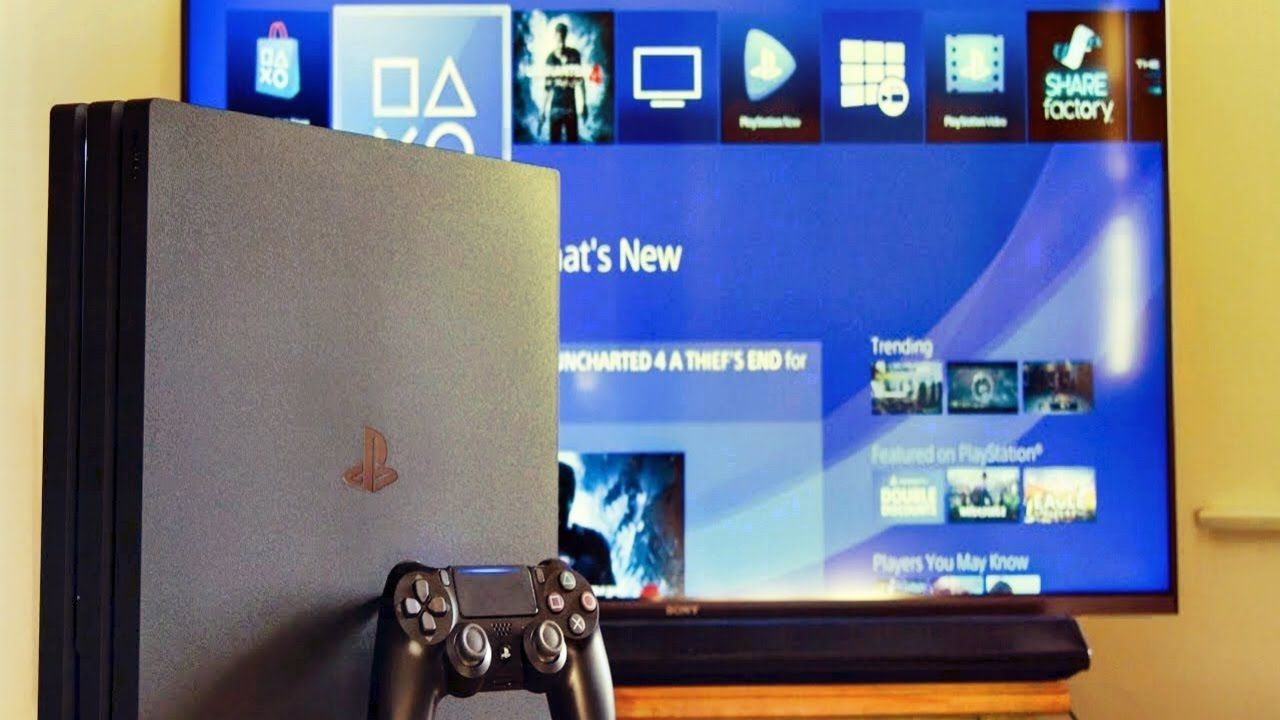PS4 Pro Update the Media Player application to use 4K