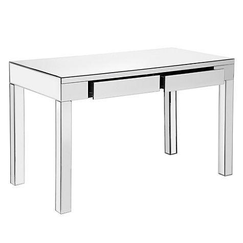 Ledger Parsons Mirrored Desk Mirrored Furniture