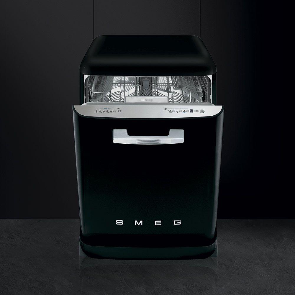 Free standing Dishwasher LVFABBL Smeg COM Black