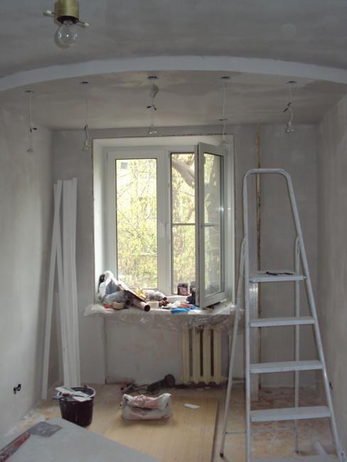 Peindre les murs et le plafond Rénovation de maison à faible