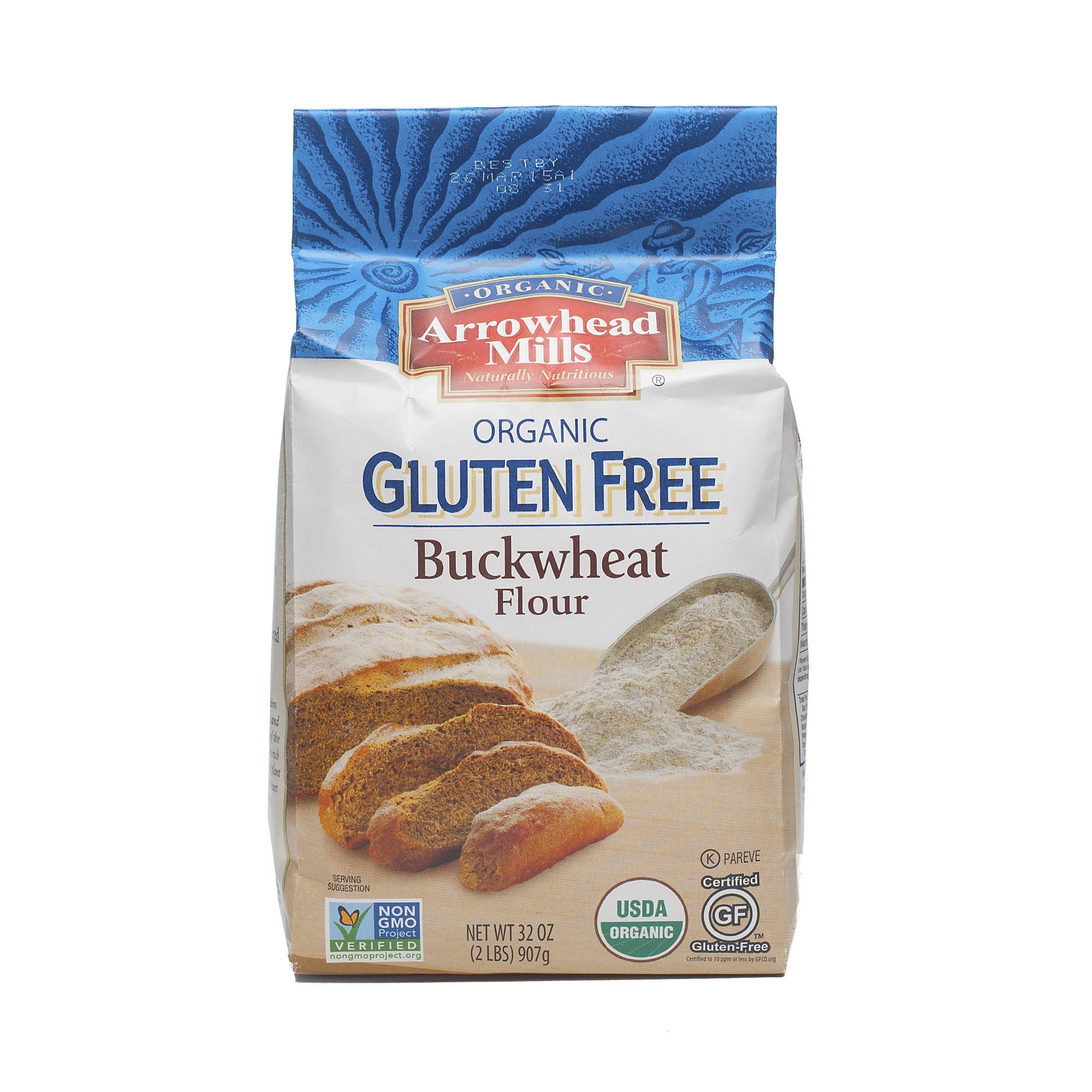 Arrowhead mills glutenfree organic buckwheat flour