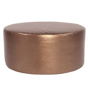 Howard Elliott Ostrich Copper Universal 36 Round Ottoman Products