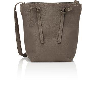 MAISON MARGIELA Medium Bucket Bag. #maisonmargiela #bags #shoulder bags #leather #bucket #