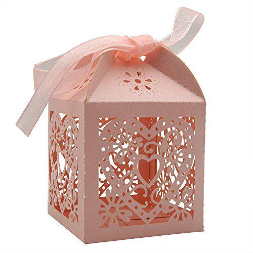 Keiva 70 Pack Love Heart Laser Cut Wedding Party Favor Bo Https