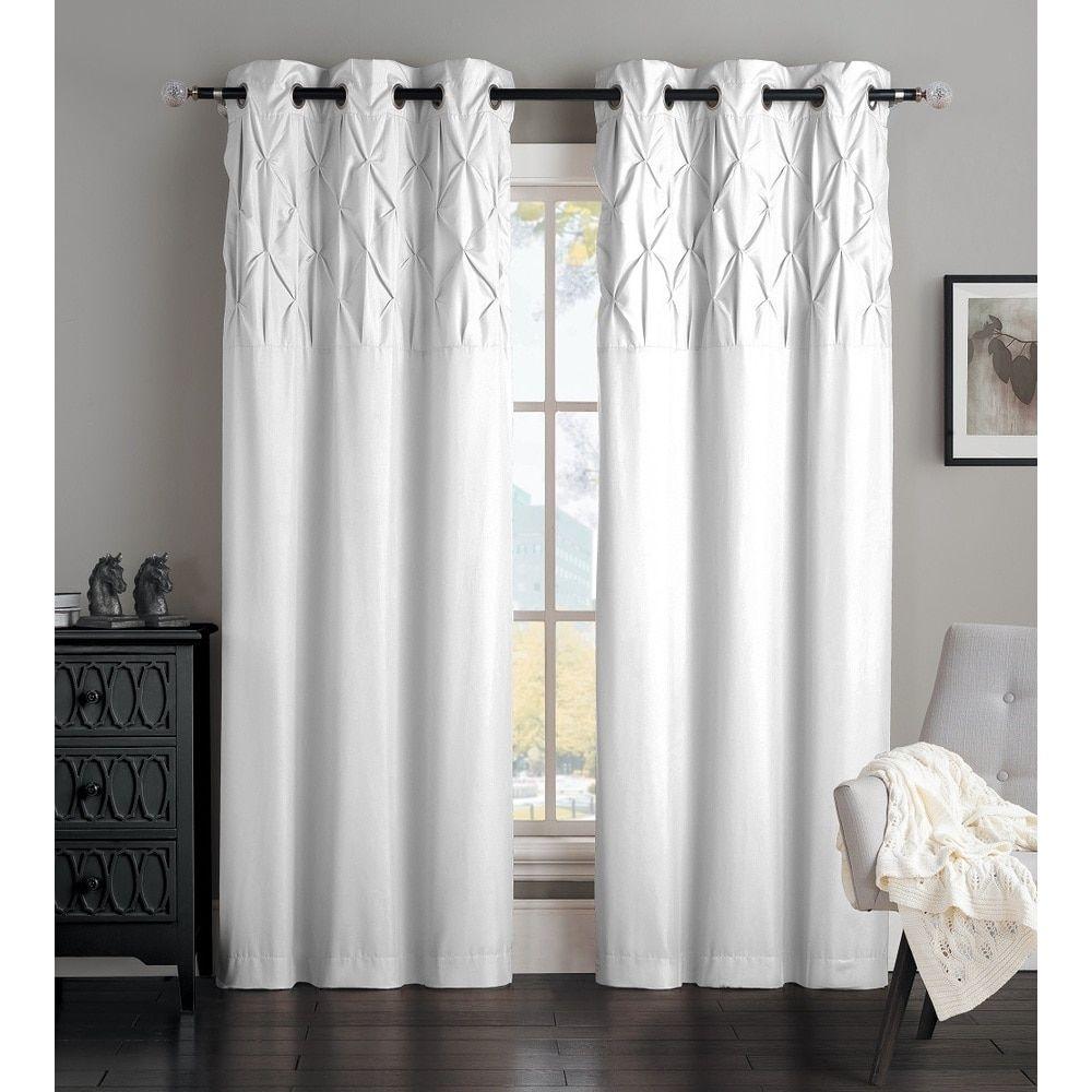 sheer noise single striped nautica panels curtain baillons velvet solid rod hackney pocket panel blackout curtains