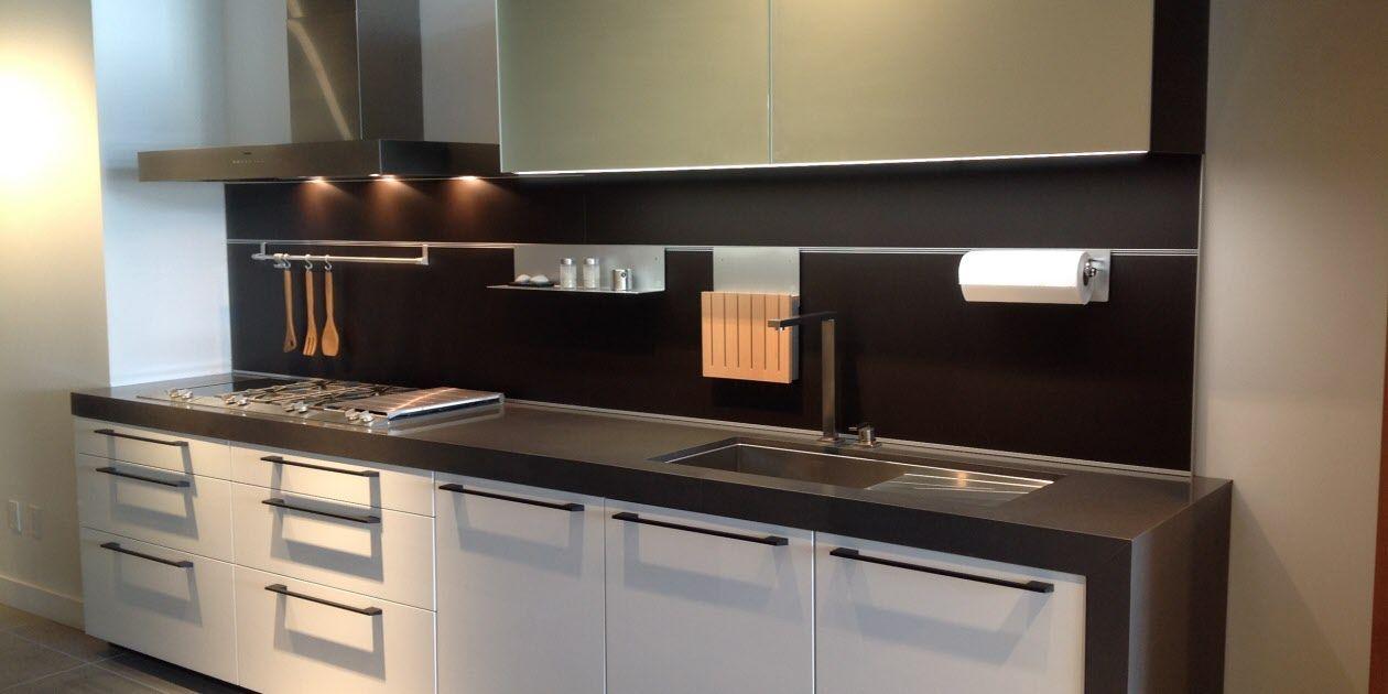Los Angeles Residence Features Italian Made Snaidero Time Cabinets Snaiderousa Italian Kitchen Design Custom Kitchen Remodel Kitchen Cabinet Design