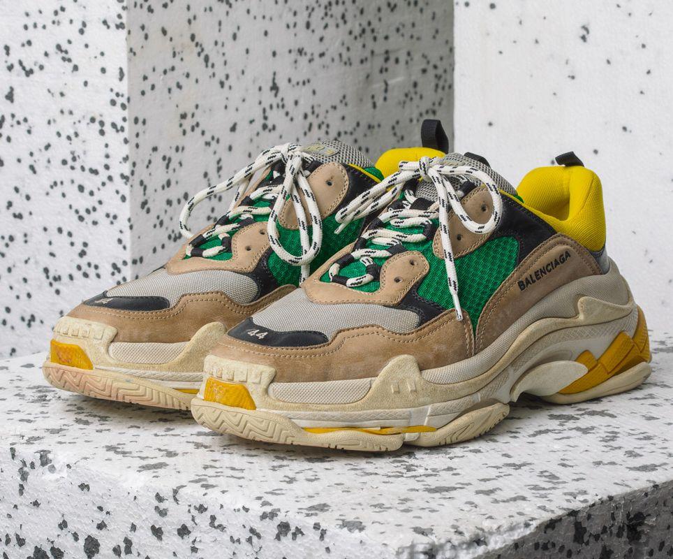 Here's How the Balenciaga Triple S Sneaker Got Its Name