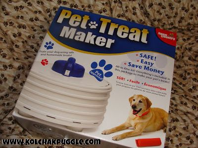 Tasty Tuesday Giveaway The Open Country Pet Treat Maker Makes Homemade Dog Treats Easy Kol S Notes Dehydrator Dog Treats Dog Treats Homemade Easy Easy Dog Treats