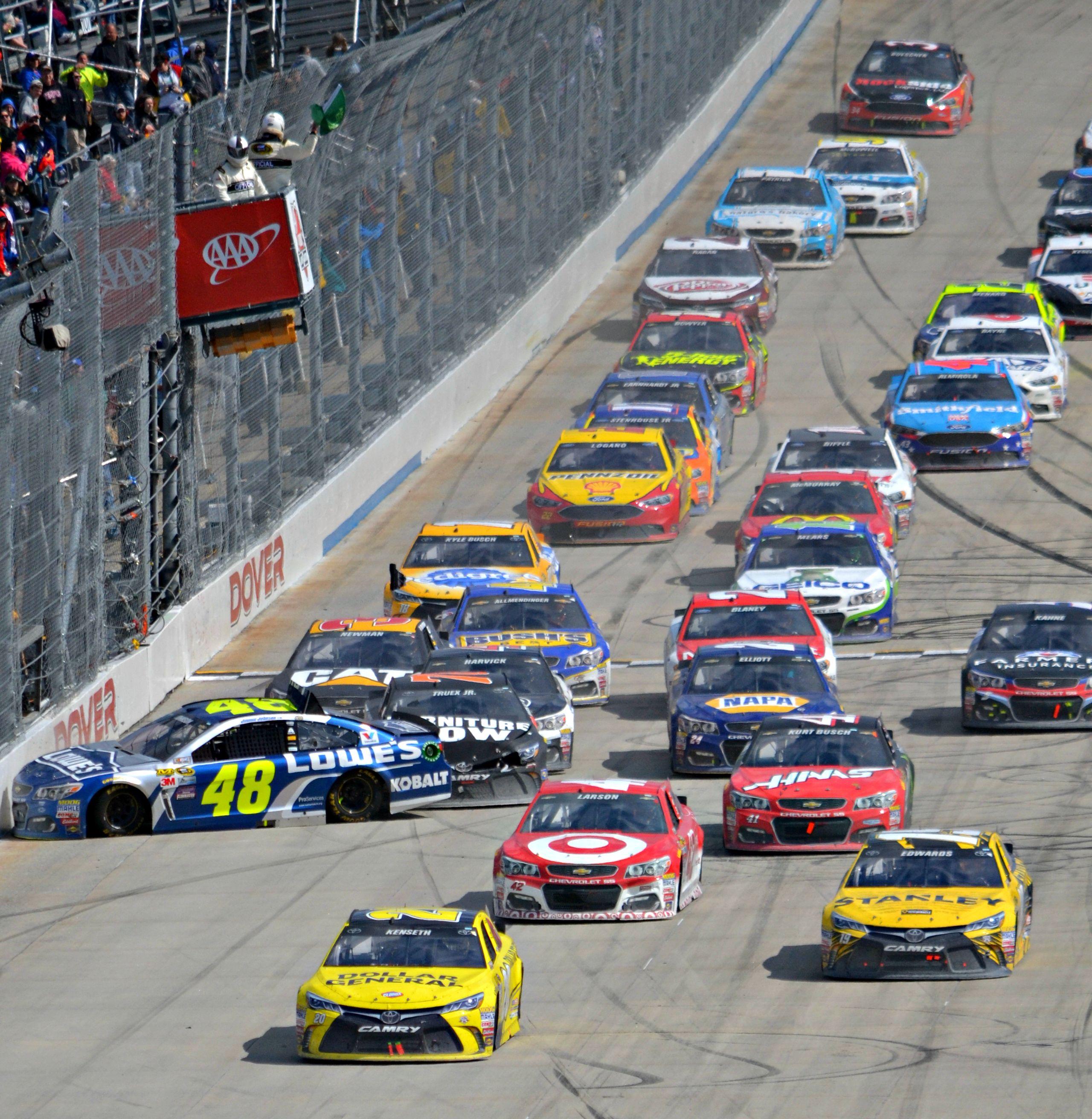 DOVER 18 CAR PILE UP START   NASCAR PICTS   Car, Nascar, Racing