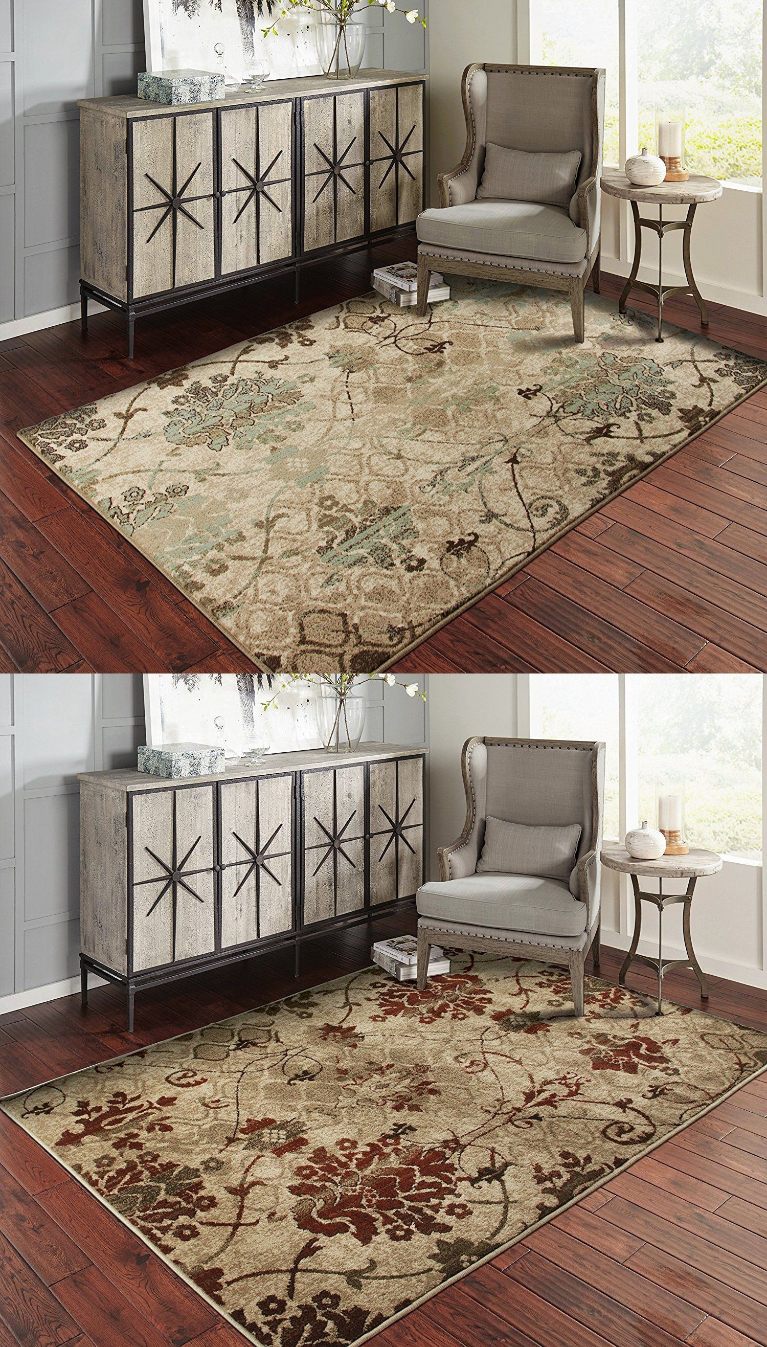 Area Rugs 45510 Modern Area Rugs For Living Room 8x10 Floral
