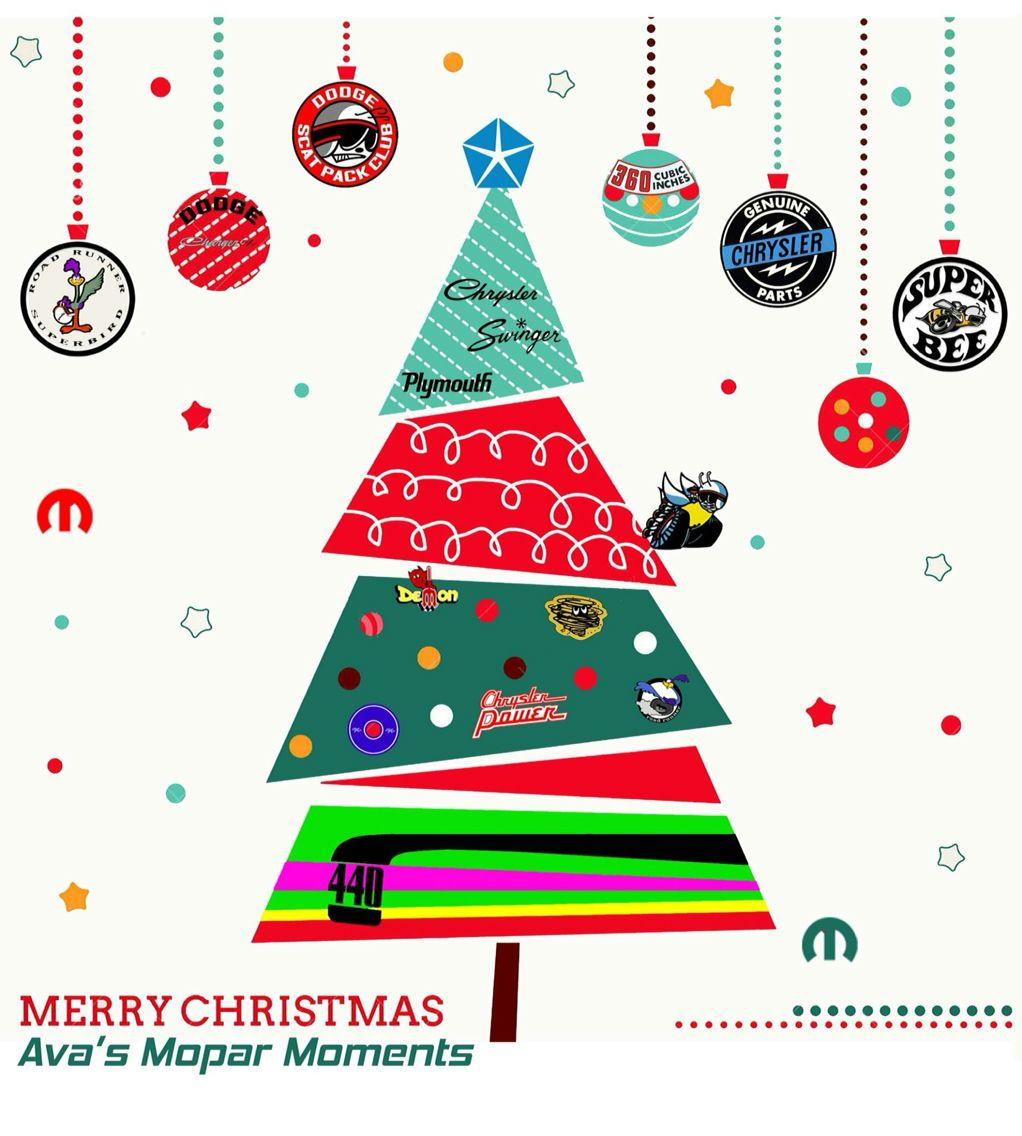 Ava S Mopar Christmas Tree