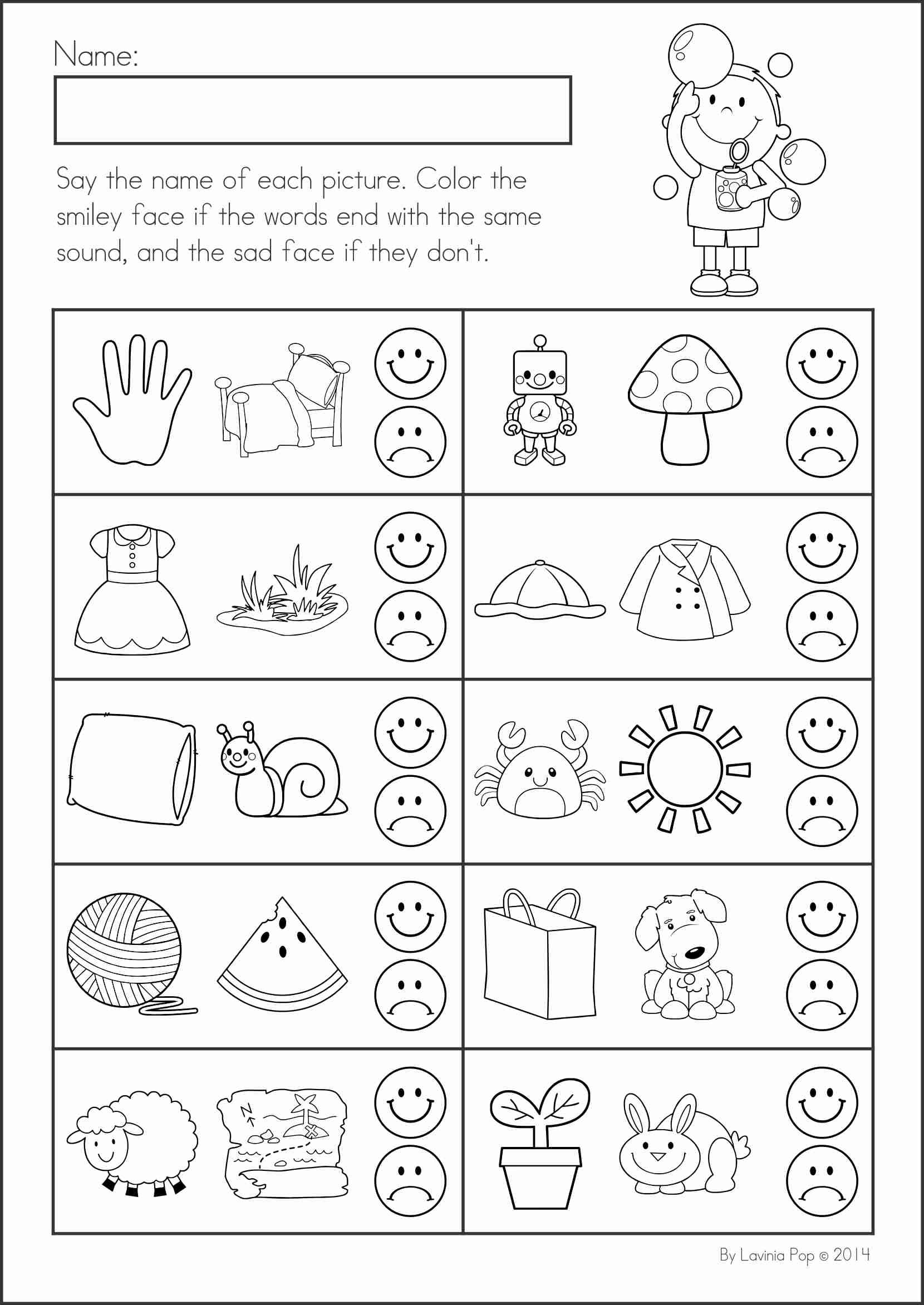 Uncategorized Ending Sound Worksheets summer review literacy and worksheets kindergarten math activities 104 pages a page from