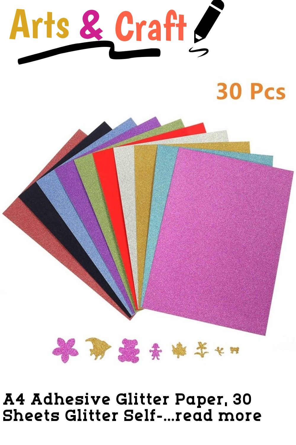 10PCS A4 Glossy Self Adhesive Sign Making Vinyl Outdoor Sticky Back Print Cutter