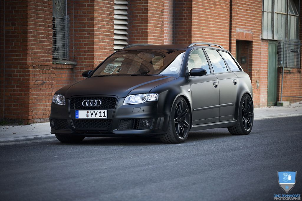 Matte Black Audi Rs4 Avant Audi Wagon Black Audi Audi
