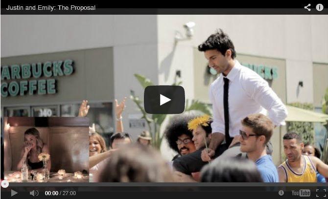 Justin Baldoni Creates Most Elaborate Proposal Ever Proposals