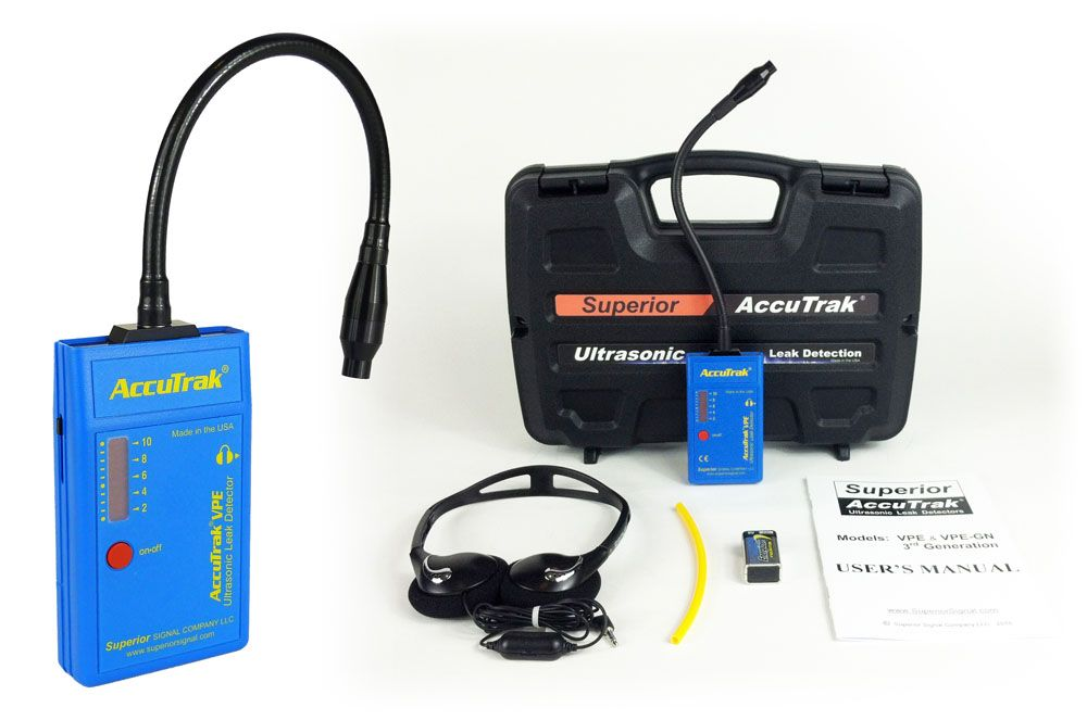 Superior Signal Is A Non Invasive Ultrasonic Leak Detector That
