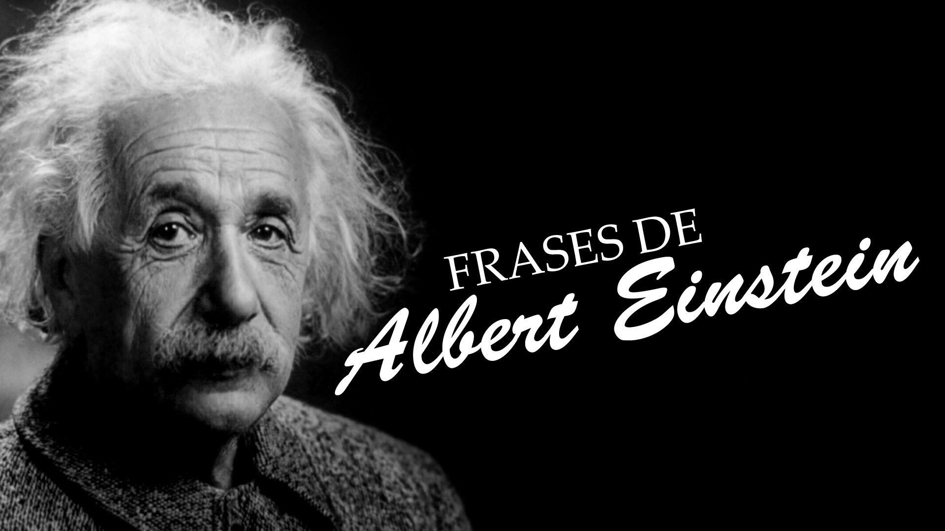 5 Frases Marcantes de Albert Einstein