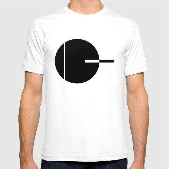Minimal Geometric Design T-shirt by Brittcorry | Society6