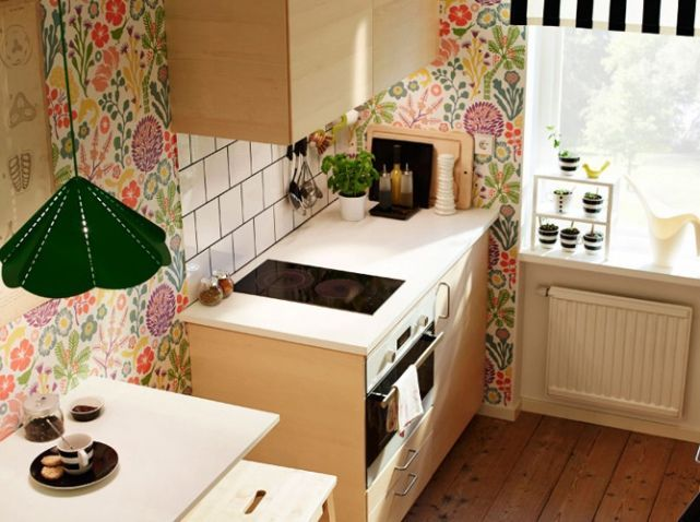 Décoration Vintage \u2013 30 idées à piquer pour une jolie cuisine - Idee Deco Cuisine Vintage