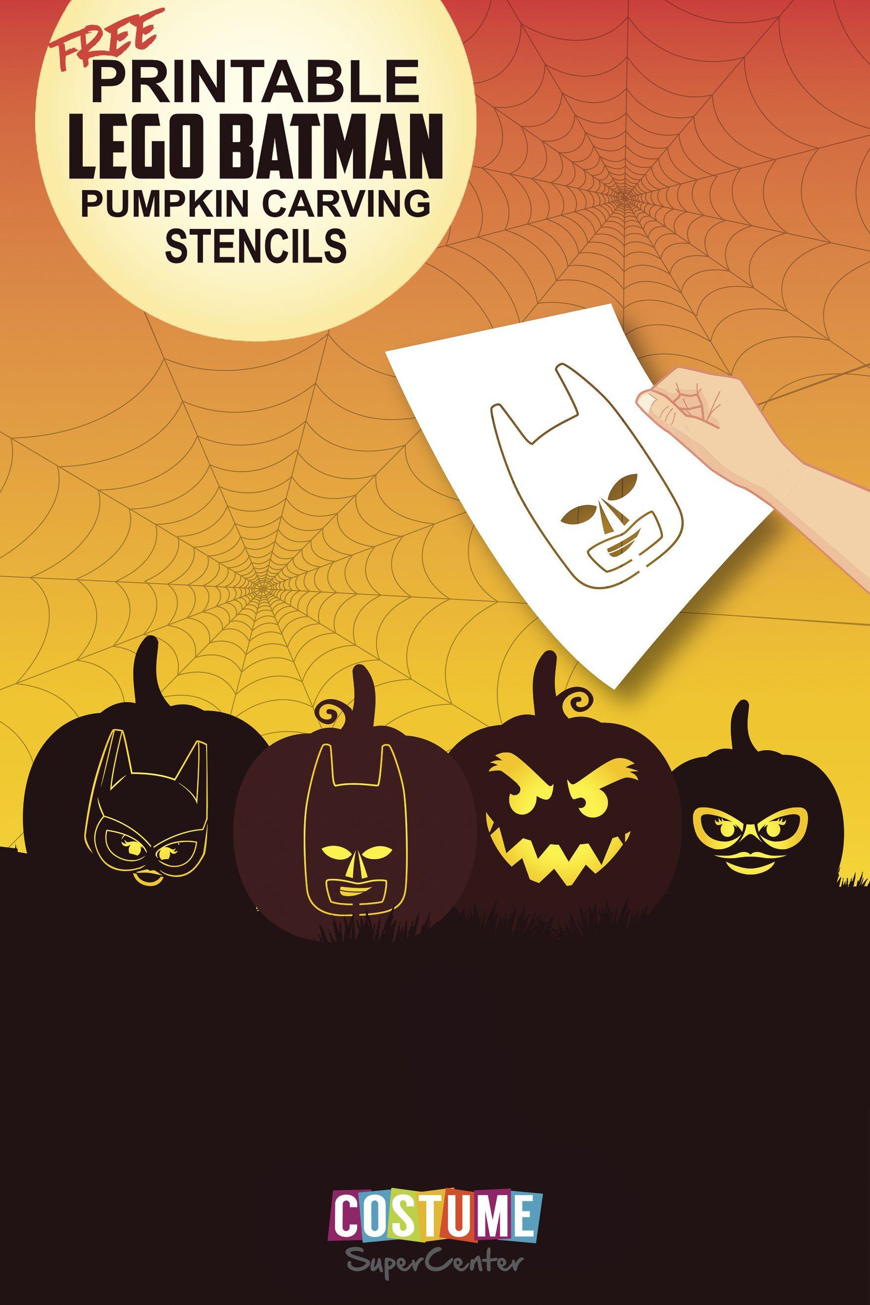 Lego Batman Pumpkin Carving Stencils Halloween Stencils Halloween Pumpkin Stencils Pumpkin Carvings Stencils