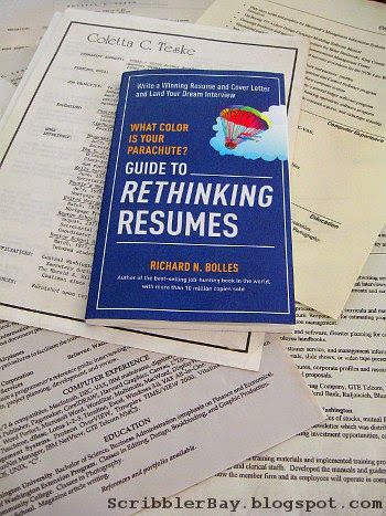 Guide to Rethinking Resumes by Richard N Bolles (author of What