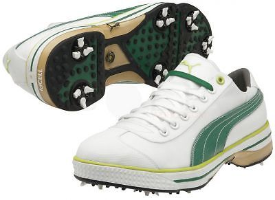 Puma Golf CLUB 917 Golf Shoes 185227 White Green Size 12 Medium
