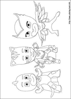 Pj Masks Coloring Picture Pj Masks Coloring Pages Catboy Pj