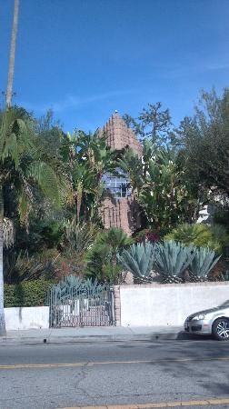 Glitterati Private Tours: John Sowden House in Los Feliz, built by Lloyd Wright.