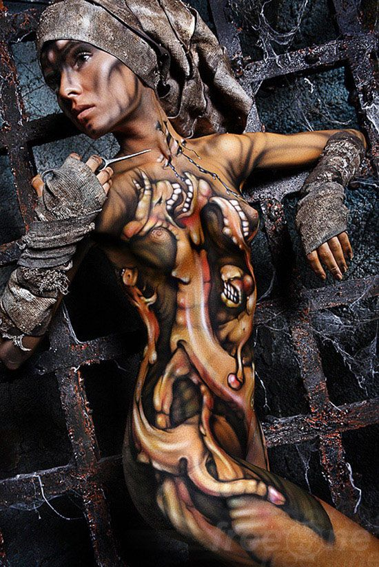 25 Amazing Body Paintings And Art Works From World Bodypainting Festival Body Painting Body Art Painting Body Painting Festival
