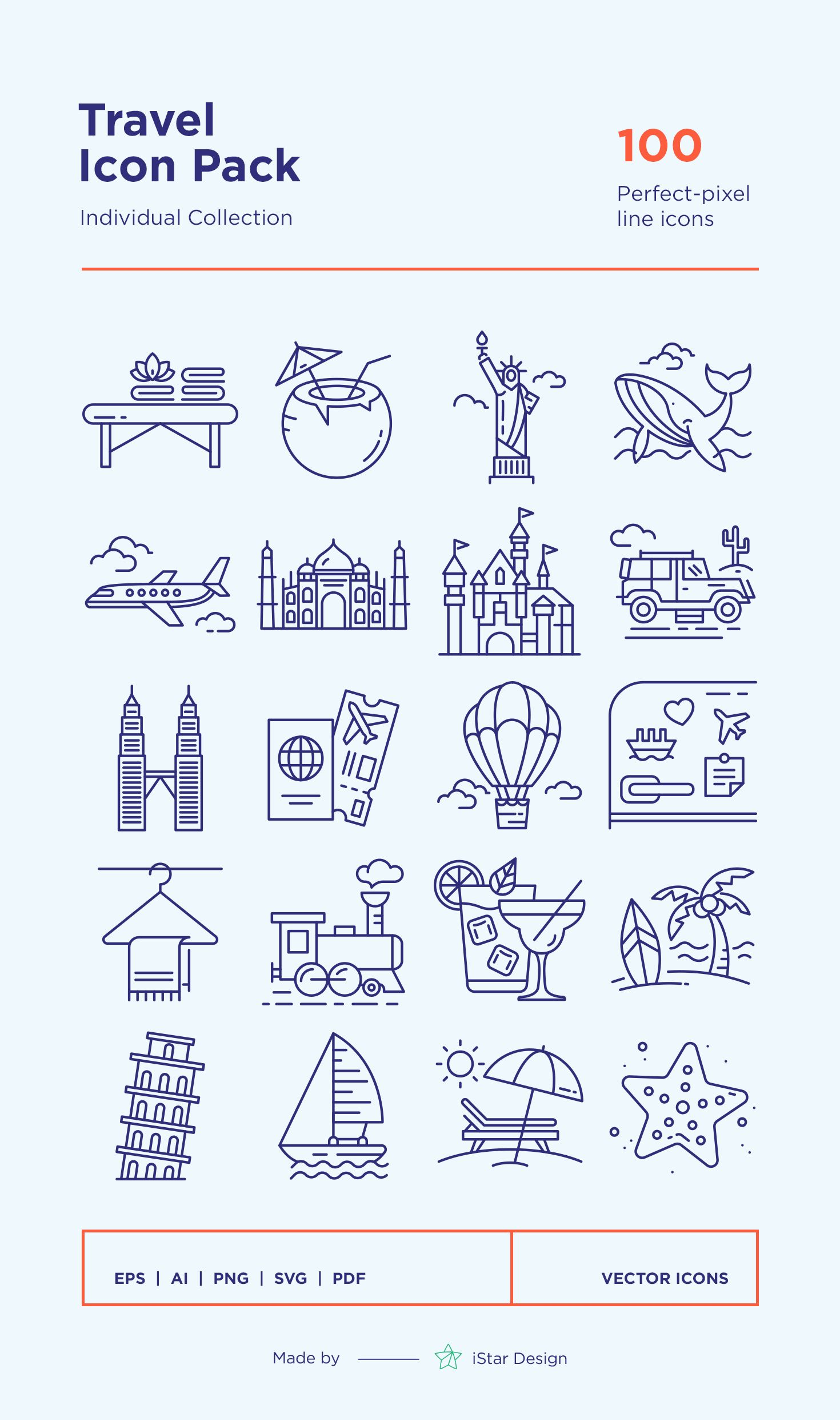 Travel Landmarks Icons Set Berlin Berlin Quotes Travel Journal