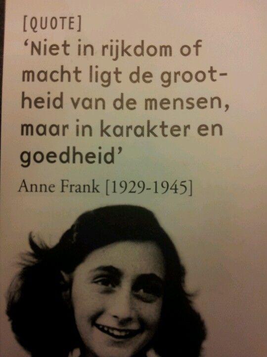 Citaten Uit Dagboek Anne Frank : Prachtige quote van anne frank words of wisdom anne frank
